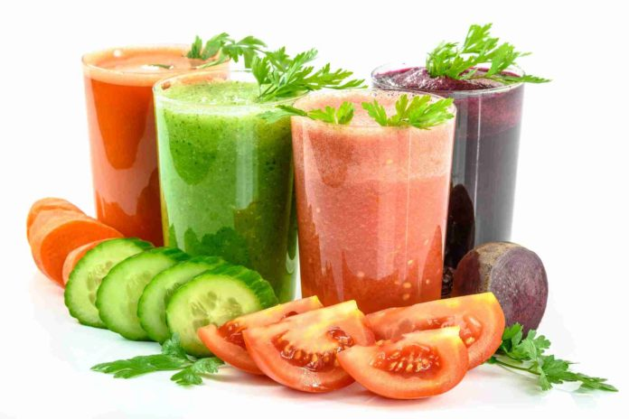 Reiki Detox Purification Vegetable Juices